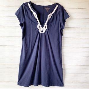 Lily Pulitzer | Navy & White Brewster Dress | XL